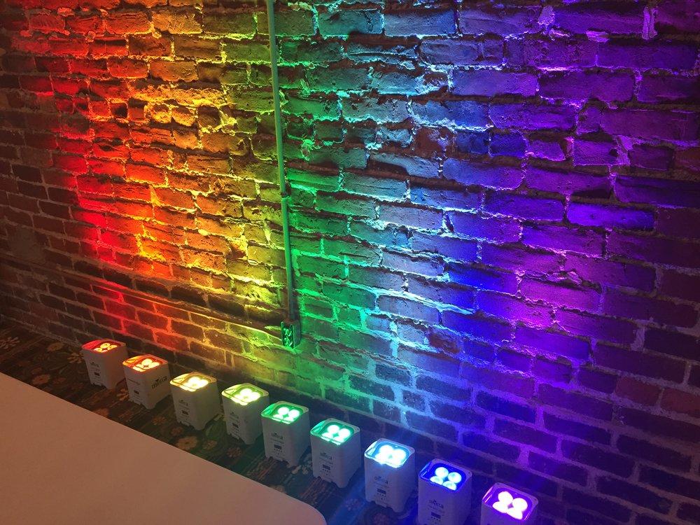 Rainbow Up Lighting