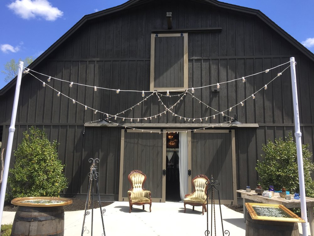 rustic barn edison lighting