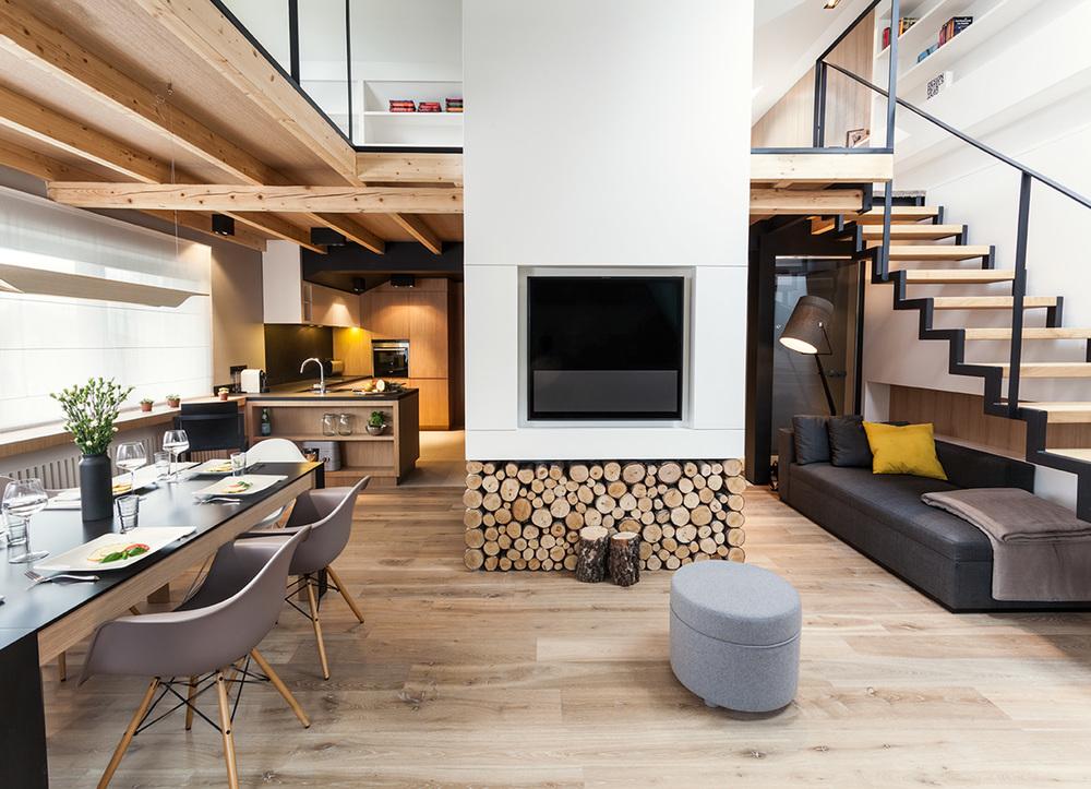 DOM ZAKOPANE 1   Góralska tradycja w nowoczesnym wydaniu – lokalna atmosfera w luksusowym apartamencie.   Galeria