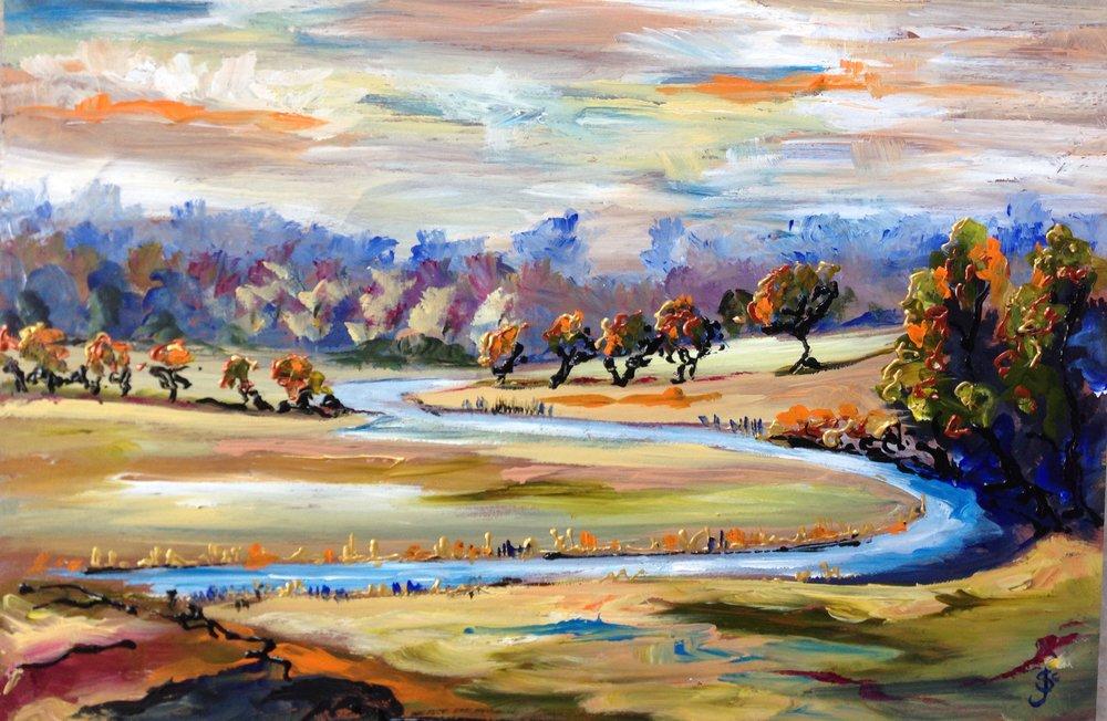 River Nene - Polebrook