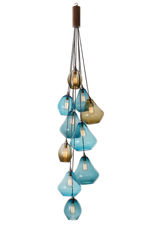 Pear Drop Chandelier