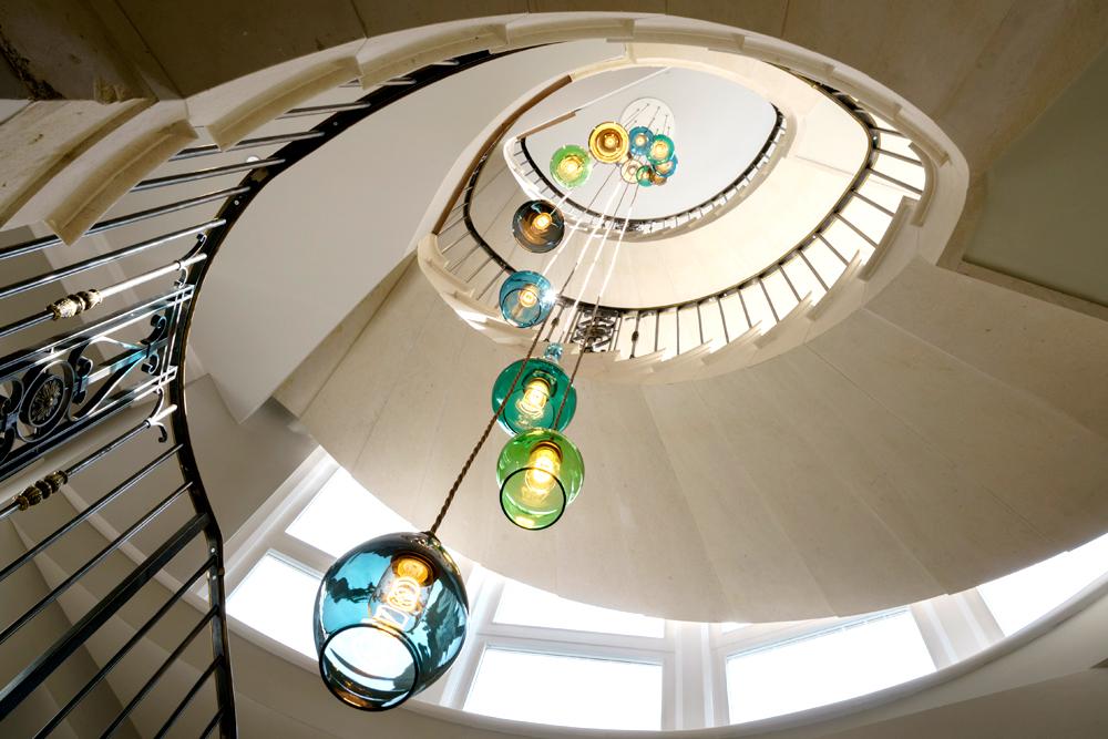 Bespoke Stairwell Chandelier