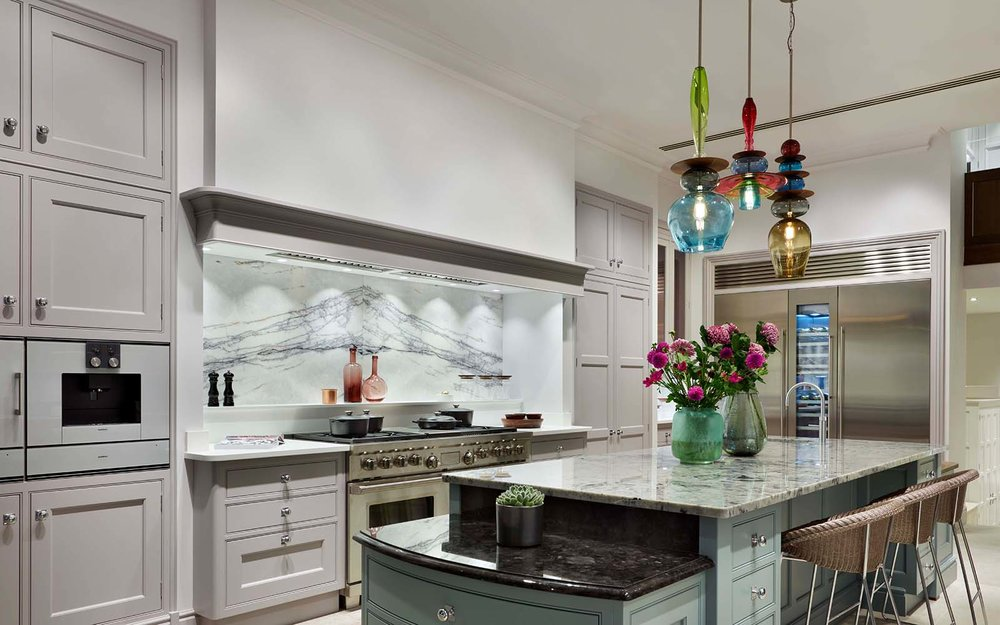kitchen island lighting style — curiousa & curiousa