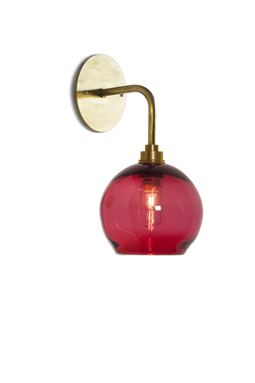 Mod Wall Light with Classic Round
