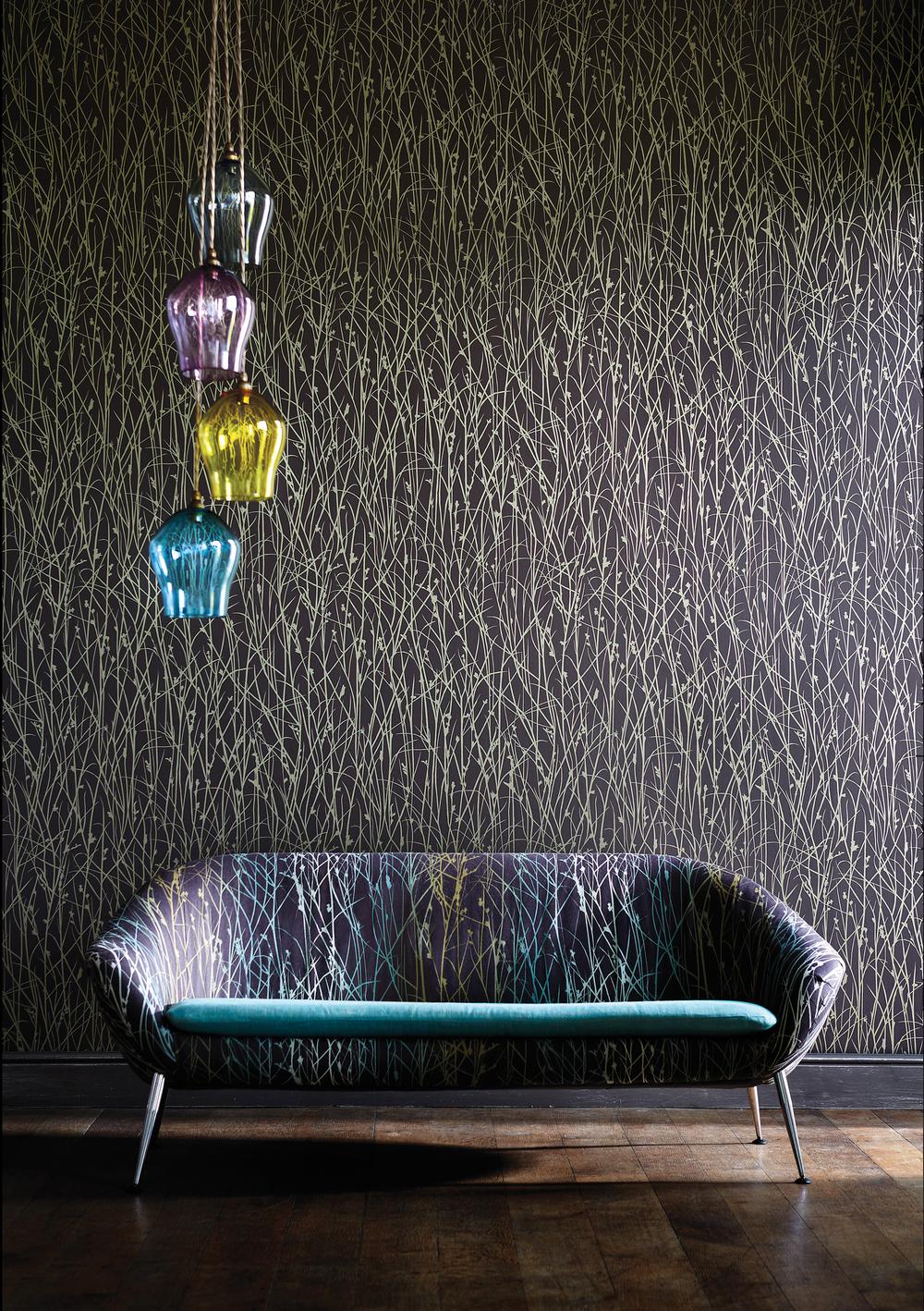 Coloured Glass Pendant Lights: Cluster