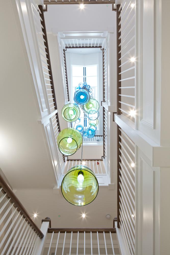 Bespoke Stairwell Chandelier Sackville House