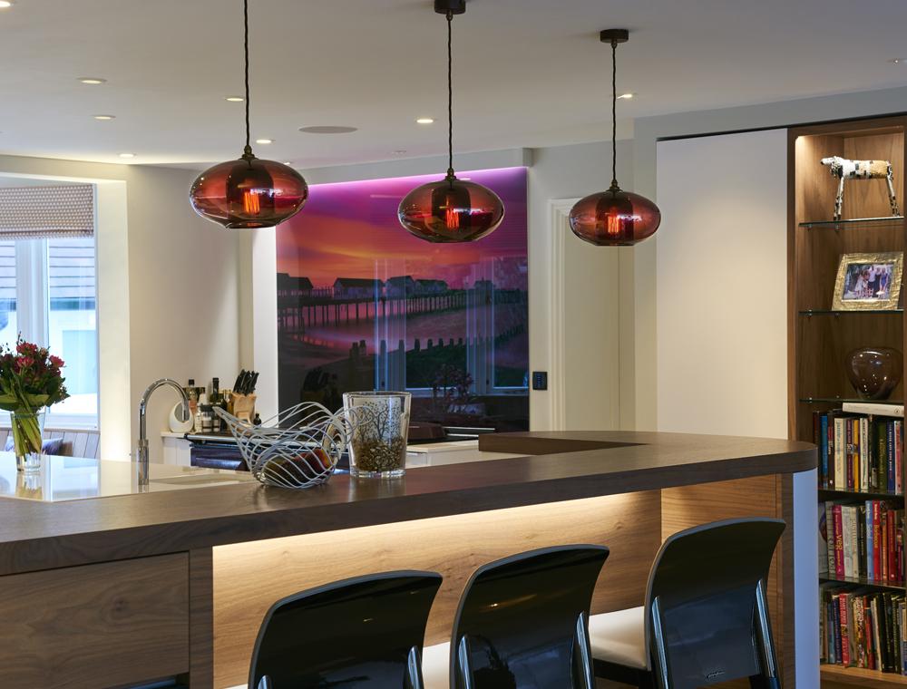 Glass Lighting Kitchen Lights GALLERY 4