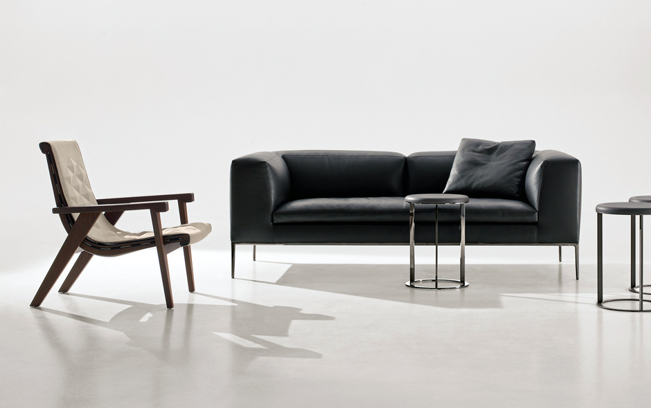 3/6 Master of the sofa the Michel is designed by Antonio Citterio and comes in many configurations.