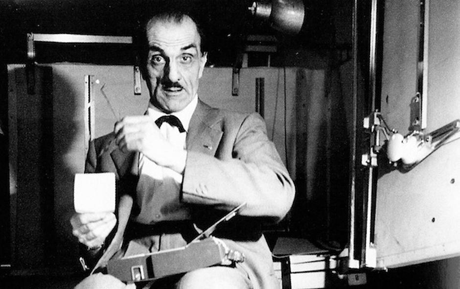 1/7 Portrait of Italian architect Carlo Mollino, the Salvador Dali of the design world.