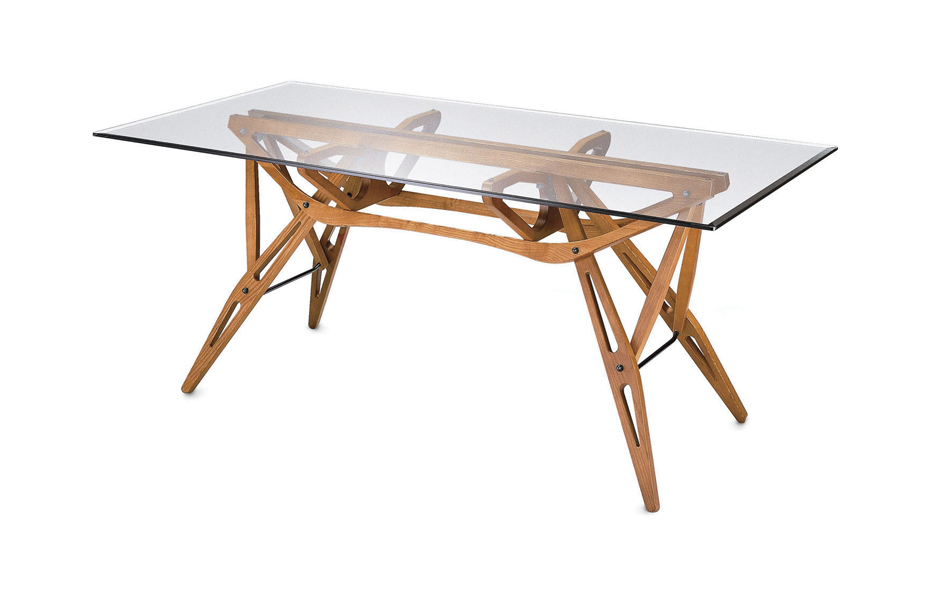 5/7 The Reale table was designed by Carlo Mollino in 1946 and is made by Zanoota using the skills of traditional artisans.
