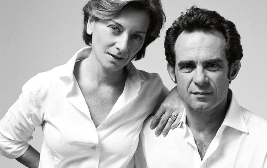 1/4 Partners in work and in life, Ludovica Serafini and Roberto Palomba set up their Milan studio in 1994.