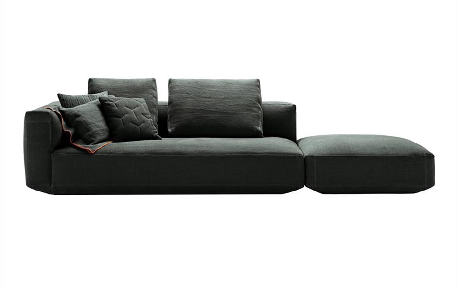 4/4 Piancalto modular lounge designed for Zanotta.