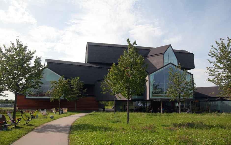 11/11 The Vitra Design Museum in Weil am Rhein, Germany.