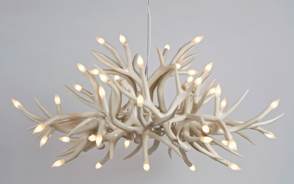 13/15 Superordinate Antler Lamps by Jason Miller for Roll & Hill.