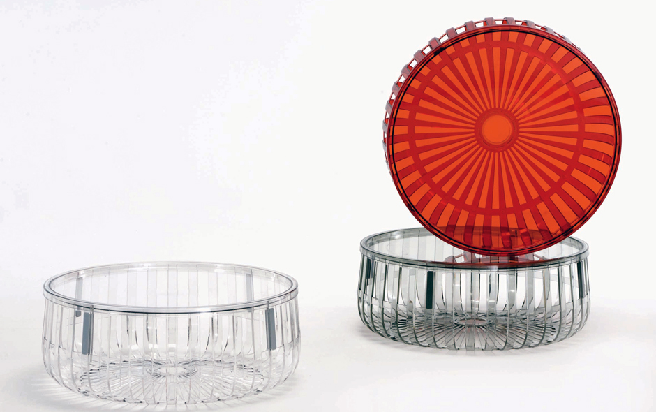 3/6 The Panier storage/table unit by Ronan and Erwan Bouroullec for Kartell.