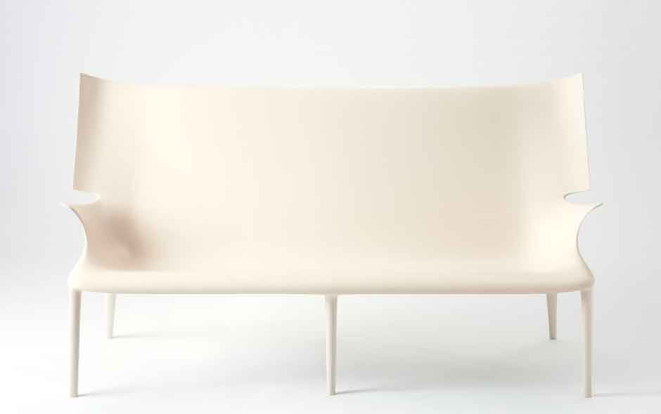 6/8 Uncle Jack sofa from the Uncle and Aunt series by Philippe Starck for Kartell.
