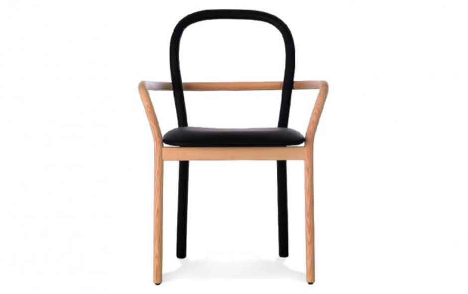 3/5 Gentle chair by Swedish design trio Front for Porro.