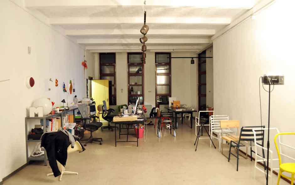 5/6 Designers Blasius Osko and Oliver Deichman's studio.