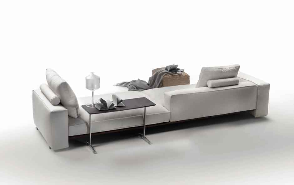 10/19 Goodplace sofa by Antonio Citterio for Flexform is generous in comfort with the added benefit of transformability