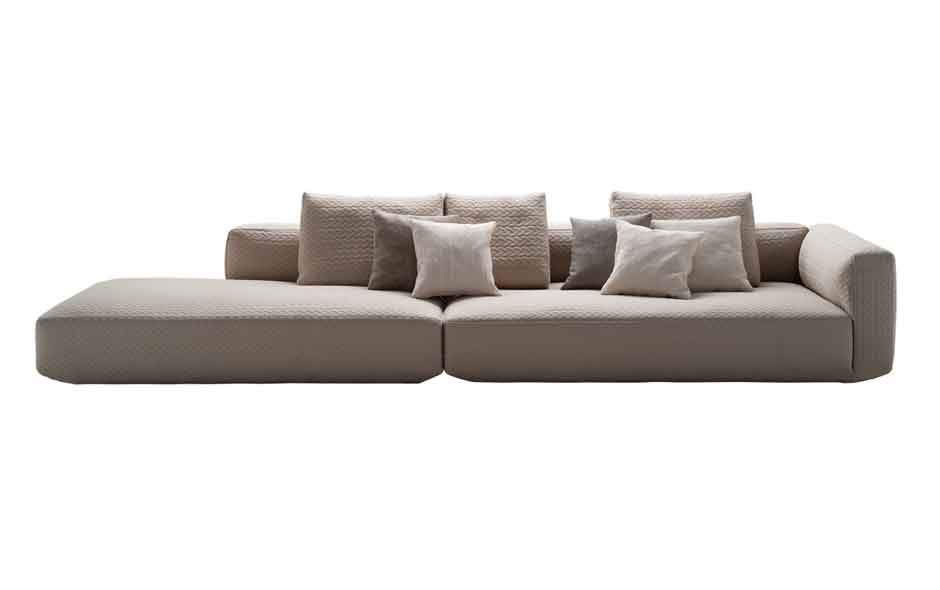 8/19 The Plateau sofa by Emaf Progetti for Zanotta.