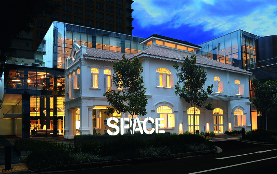1/7 Space Asia Hub designed by architects WOHA in Singapore's arts precinct launched on the 11.11.11.