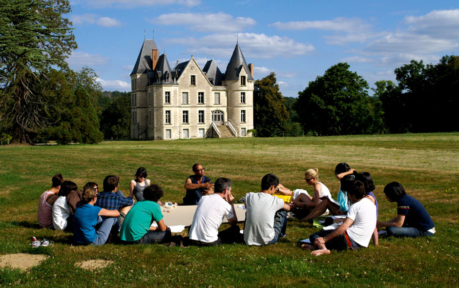 1/5 The Domaine de Boisbuchet in south-west France. Photo Cireca.