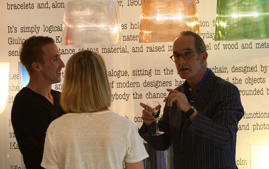2/5 Kevin McCloud sharing his views on design and the role of the designer.