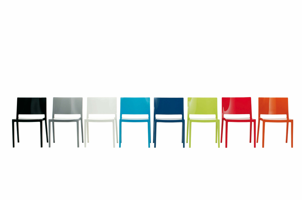 The  Lizz chair by Piero Lissoni for Kartell.