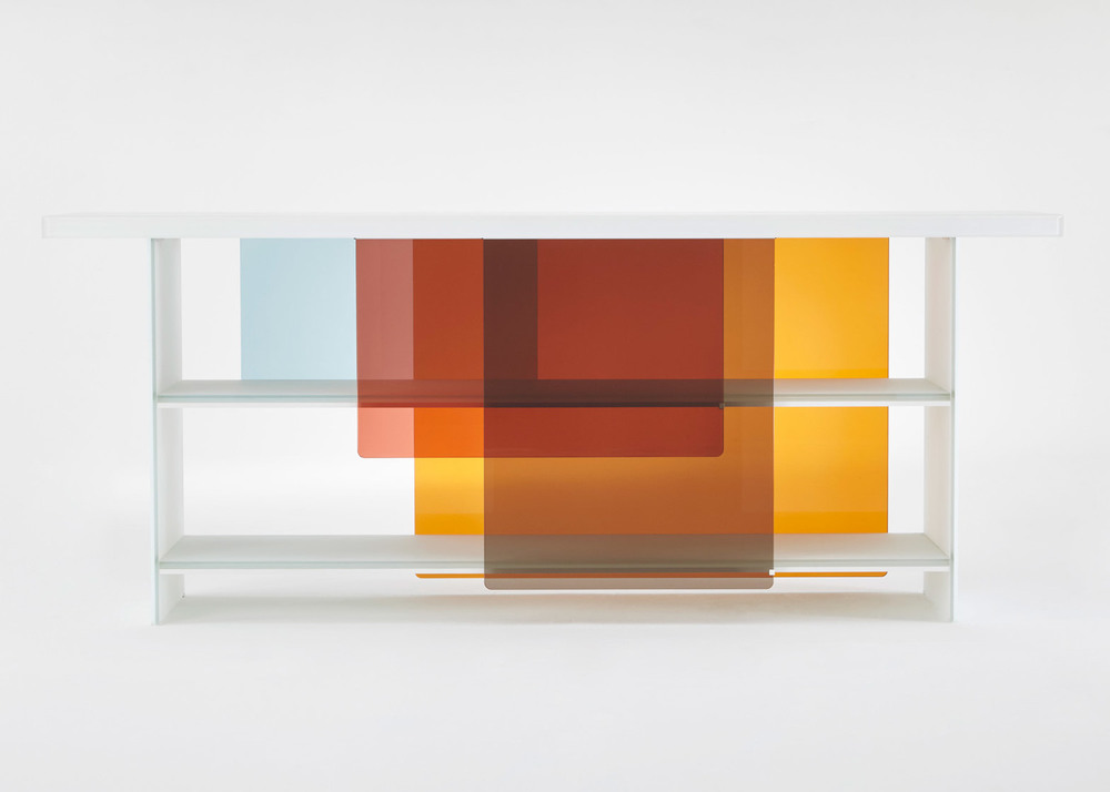Layers by Glas Italia designed by Nendo and launched in Milan this year.
