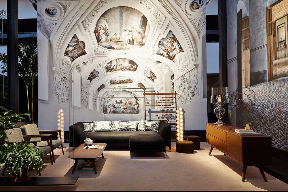 The Zio collection by Marcel Wanders for Moooi.
