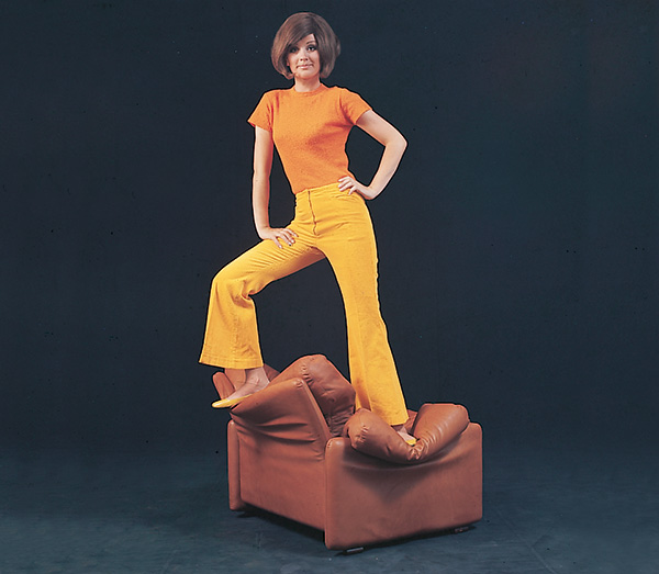 Like their furniture, B&B Italia's advertising campaigns in the 1960s and 70s were bold and adventurous and appealed to a new consumer.