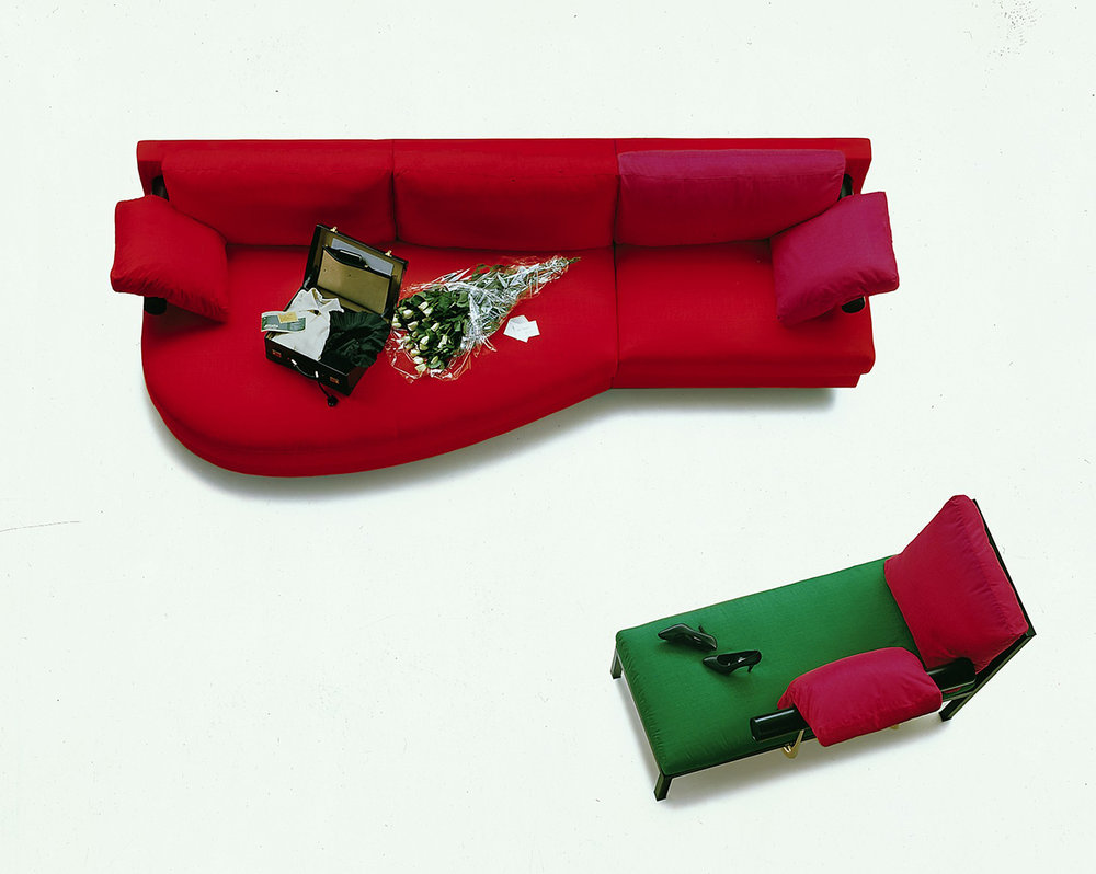 Antonio Citterio's  Sity sofa was designed in 1986 and won B&B Italia the coveted Compasso D'Oro.
