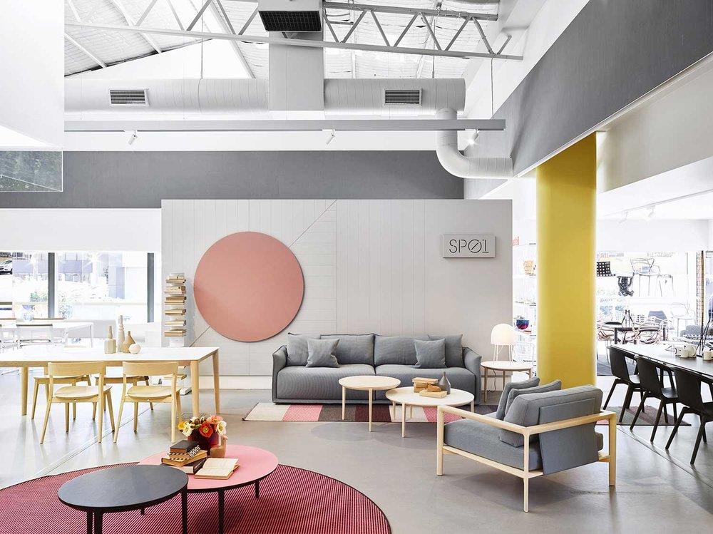 Furniture And Interior Design Brisbane ~ Space furniture s new showroom by designoffice — more