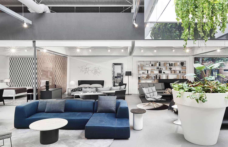 space furniture lighting. simple lighting space furnitureu0027s new showroom by designoffice in furniture lighting e