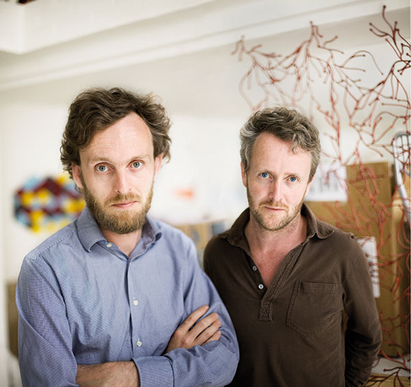 Ronan and Erwin Bouroullec. Photo: Nanimarquina