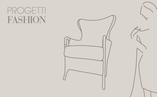 Progetti Fashion by  Umberto Asnago for Giorgetti