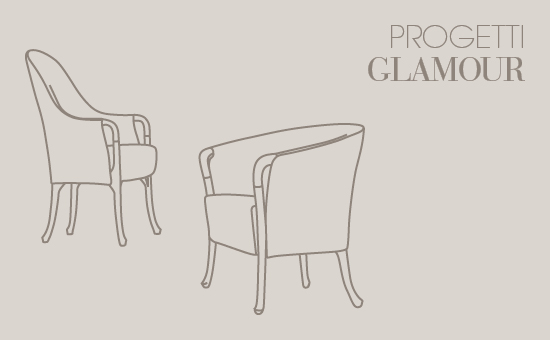 Progetti Glamour by  Umberto Asnago for Giorgetti