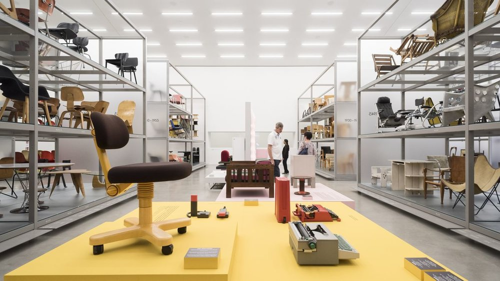 """Poet and Rebel: Ettore Sottsass and the Memphis Legacy"" at the Vitra Design Museum until 24 September, 2017.  Photo courtesy Vitra Design Museum."