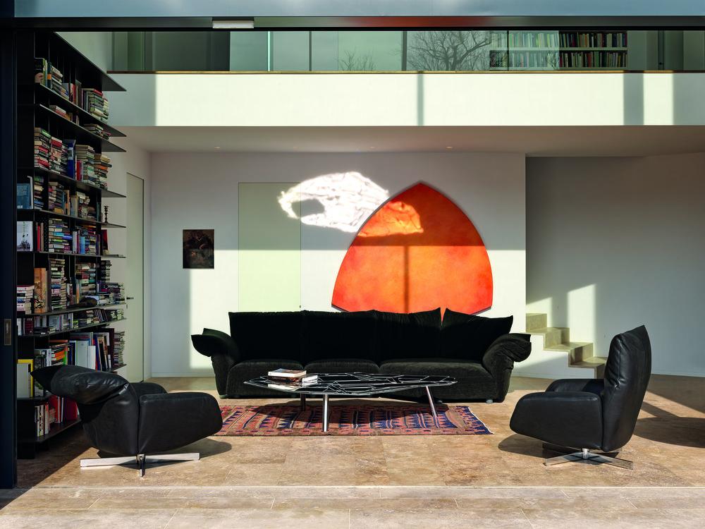 The Essential sofa by Francesco Binfaré for Edra.