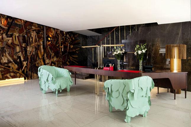 The essential sofa by francesco binfar for edra more for Design hotel athens