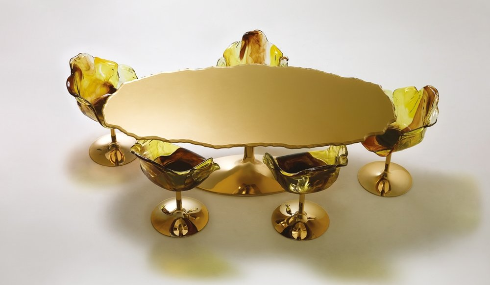 Table Egeo designed by Jacopo Foggini for Edra.