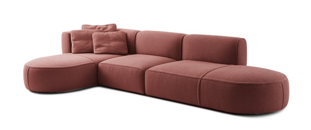 The curvaceous Bowy-Sofa by Patricia Urquiola for Cassina.