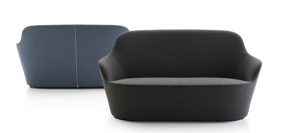Harbor sofa by Naoto Fukasawa for B&B Italia.