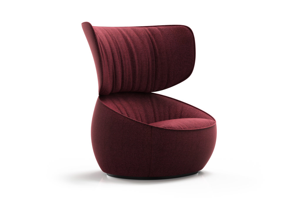 Hana armchair by Simone Bonanni for Moooi.