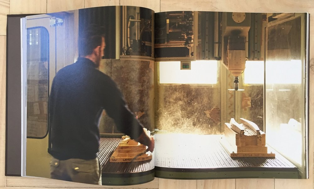The book that commemorates 120 years for Giorgetti, 'Object to Project – Giorgetti Design since 1898' uncovers the intricate world of high craftsmanship founded in the traditions of the Italian Brianza district.