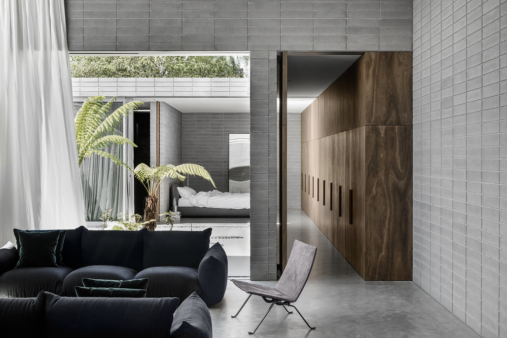 "The Highbury Grove House by Ritz & Ghougassian was awarded a Commendation at the Australian Interior Design Awards, the design practice described by the jury as, ""refined, architecturally rigorous and notable for its strong adherence to a set of shared design values"", Photo Tom Blachford."