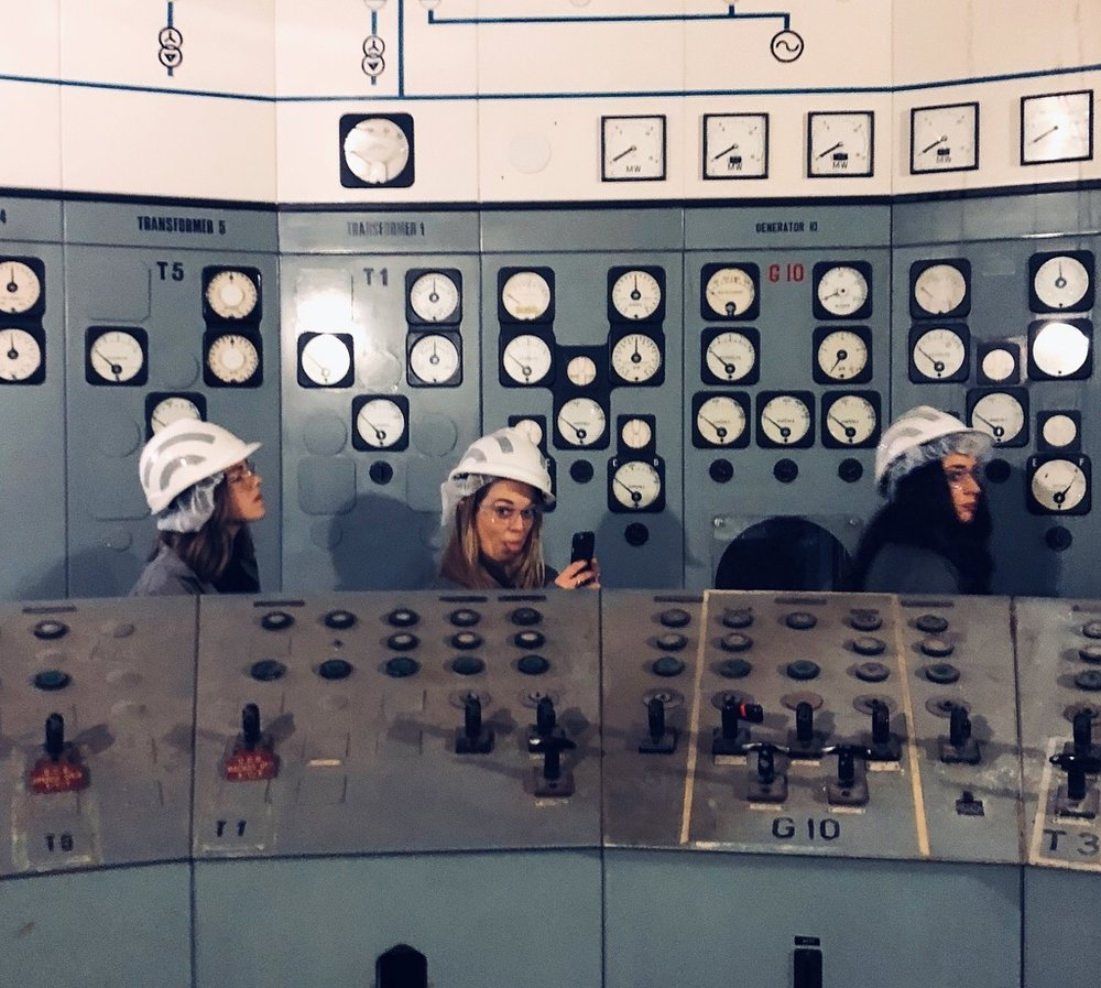 """Probably the coolest space was the control room [at Substation J] which is a throwback from the early 19th-century"", remarks Dan Cox, Director of Interior Design at Carr Design. Photo © Dan Cox."