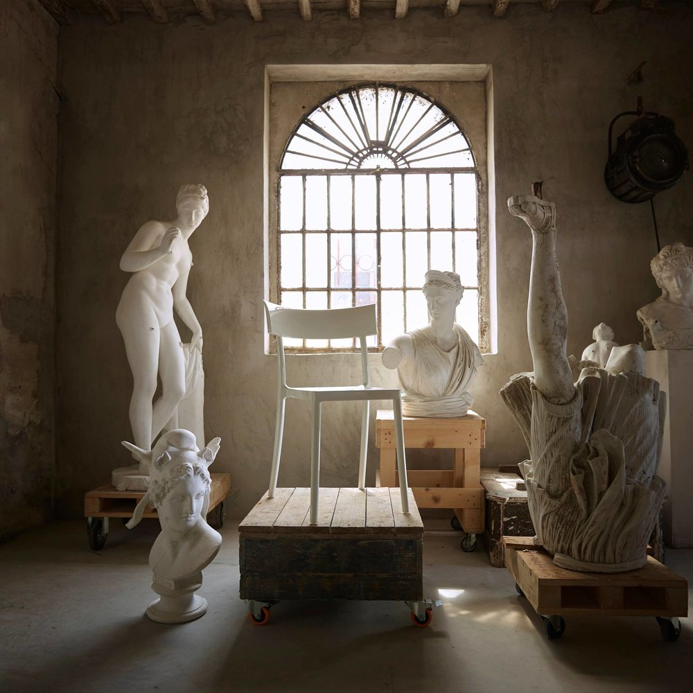 Sculptor Massimilliano Pelletti's Art Studio in Pietrasanta, Italy. Photography © Veronica Gaido.