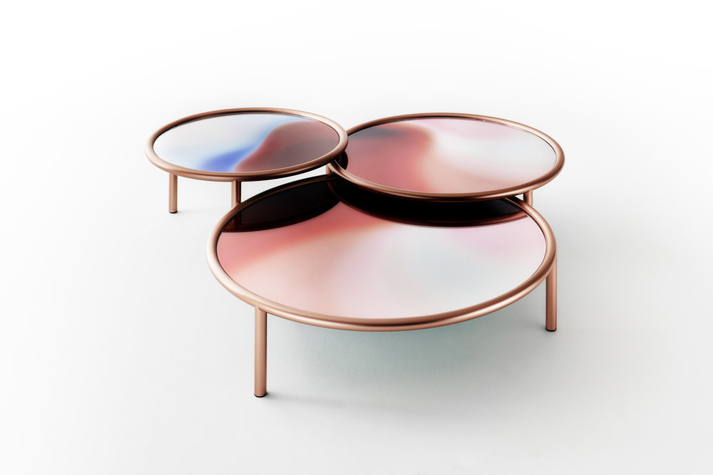LA Sunset by Patricia Urquiola for Glas Italia.