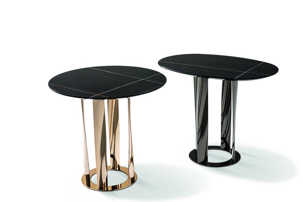 Boboli tables  by  Rodolfo Dordoni  for  Cassina . Photo © Cassina.